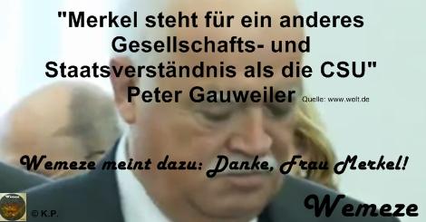 Herr Gauweiler und das Staatsverständnis der CSU
