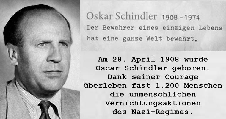 Oskar Schindler – was wirklich zählt, ist das Leben