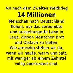 14 Millionen völkisch